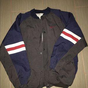 Vtg Nike bomber jacket youth size xl